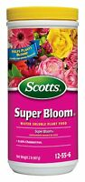 Scotts Super Bloom Water Soluble Plant Food, 2pound, New, Free Shipping on sale