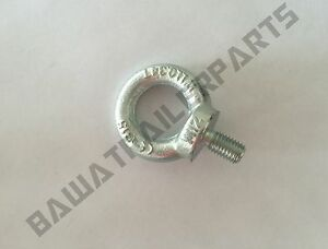 1 x M12 Eye Bolt Rated: WLL 0.34T TRAILER PARTS!