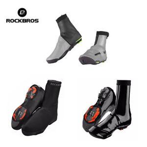 RockBros-Cycling-Bike-Shoe-Covers-Winter-Warm-Waterproof-Protector-Overshoes