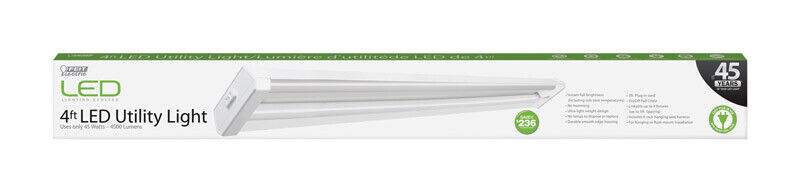 FEIT Electric  48 in. 45 watts LED  Utility Light