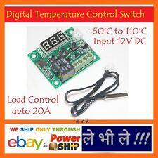 E69 DC12V -50C Cool 110°C Hot Digital Thermostat Temperature Control Switch 220V