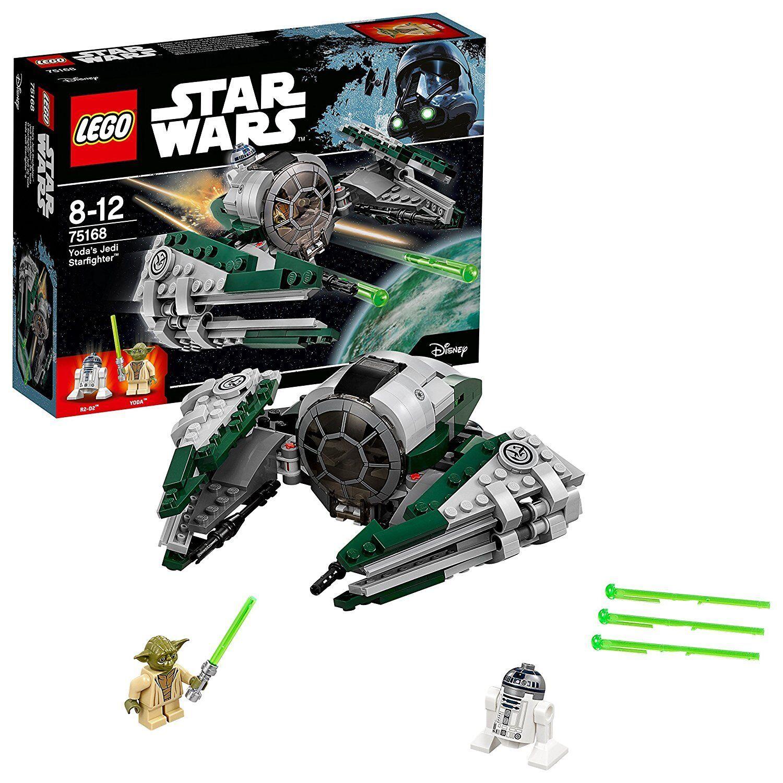 LEGO 75168 STAR WARS Jedi Starfighter par Yoda - R2D2