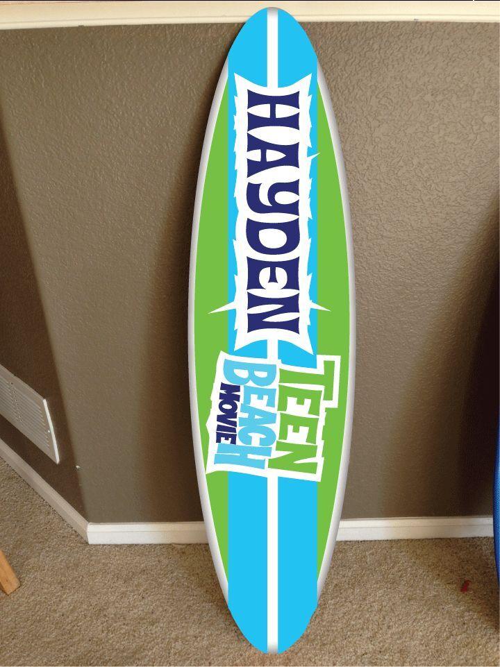 Wall Hanging planche de surf planche de surf DECOR Hawaiian Plage Surf Teen Beach Movie