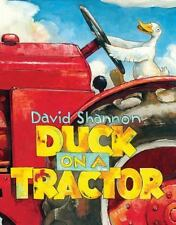 Duck on a Tractor by David Shannon (2016, Picture Book)