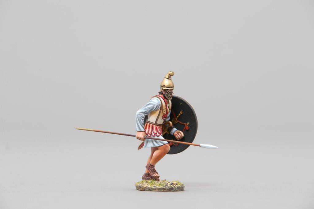 THOMAS GUNN ROMEN005A - Carthaginian Soldier (Red) Painted Metal Figure