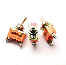 Us Stock Spst Onoff 2 Position 4 Pin Power Control Toggle Switch E Ten1021