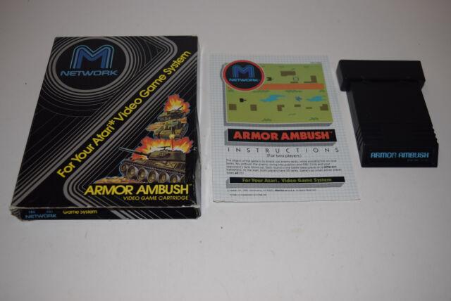 Armor Ambush Atari 2600 Game Complete Tested M Network