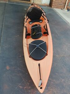Details about Ocean Kayak Torque 4 2m Minn Kota Motorized Fishing Kayak -  Orange