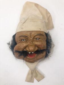 Vintage Laffun Head Chef Original Peter Figuren Bibi Products Squirter Untested