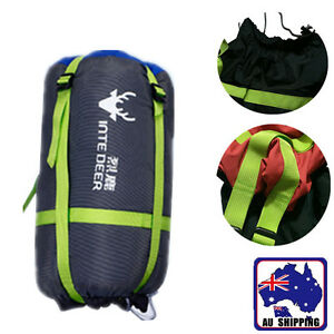 Image Is Loading Compression Sack Sleeping Bag Cover Pouch Clothing Stuff
