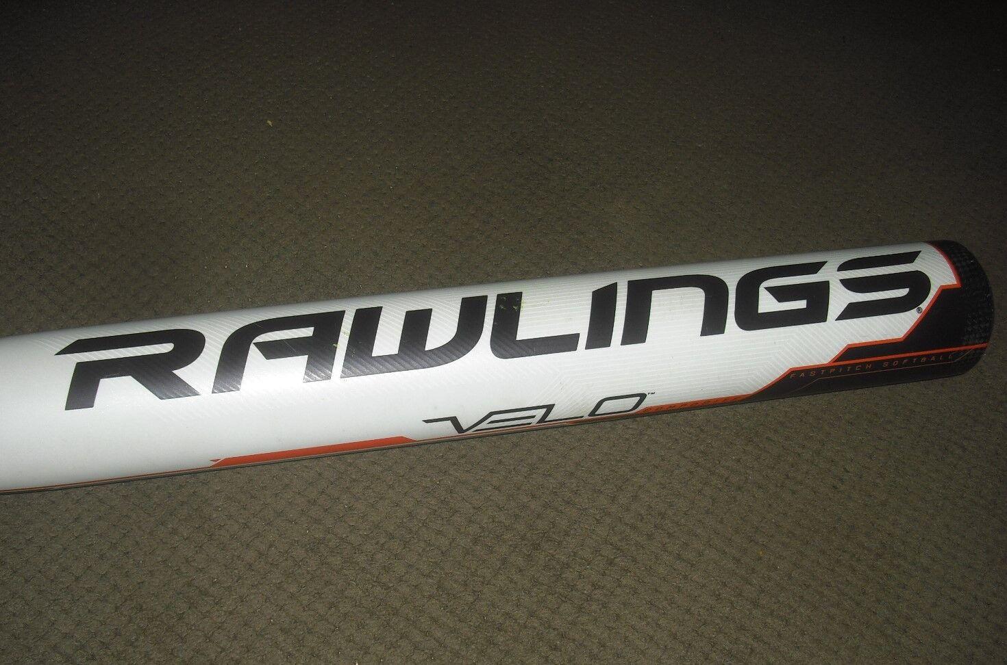2018 Rawlings VELO VELO VELO 2 1/4″ Composite Fastpitch Softball Bat FP8V9 34/25 -9 USSSA 4f2b63