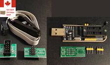 Ch341a Soic8 Sop8 Test Clip Eeprom Flash Bios Usb Programmer Arduino Fast Ship