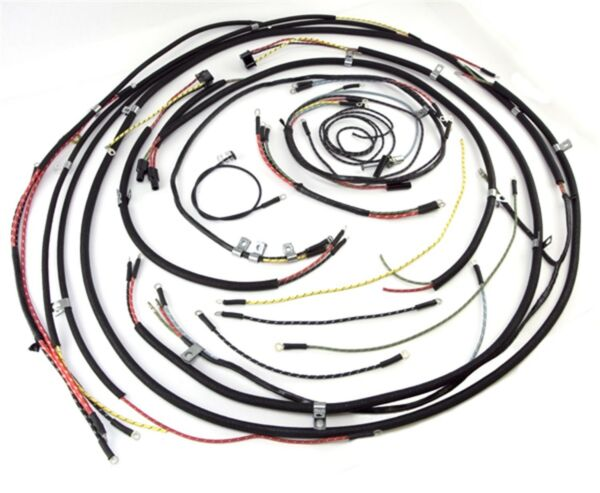 Chassis Wire Harness Cj 2 Omix 17201 01 Fits 1946 Jeep Willys