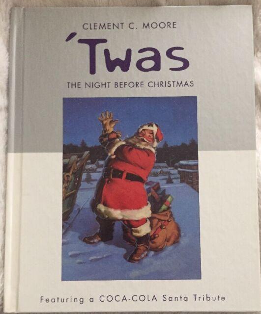 Clement Moore Twas Night Before Christmas Coca Cola Coke Santa Tribute Hallmark
