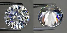 2.75 ct Round (9 mm) Russian Simulated Lab Diamond 6AAAAAA Hearts & Arrows K17