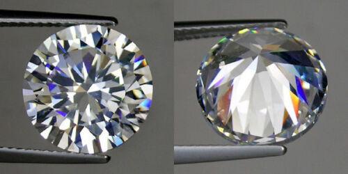 9 mm 2.75 ct Round Russian Simulated Lab Diamond 6AAAAAA Hearts /& Arrows K17