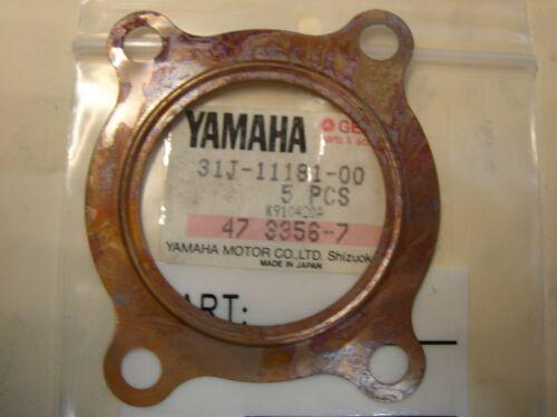 NOS YAMAHA YZ100 1977-1979 CYLINDER HEAD GASKET 31J-11181-00 NEW OEM