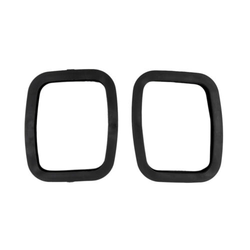 1 Pair Strong Black Rubber Roller Road  Inline Skates Plate Edge Guard