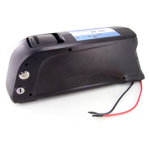 Ultramax E-Bike Batterie 36V 10Ah 50 Cellules en Bas Tube Bouteille + Chargeur
