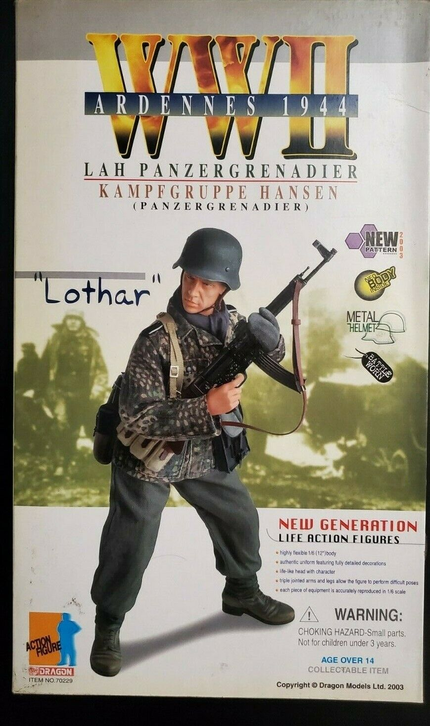 Dragon LAH Panzergrenadier  Lothar  No.70229