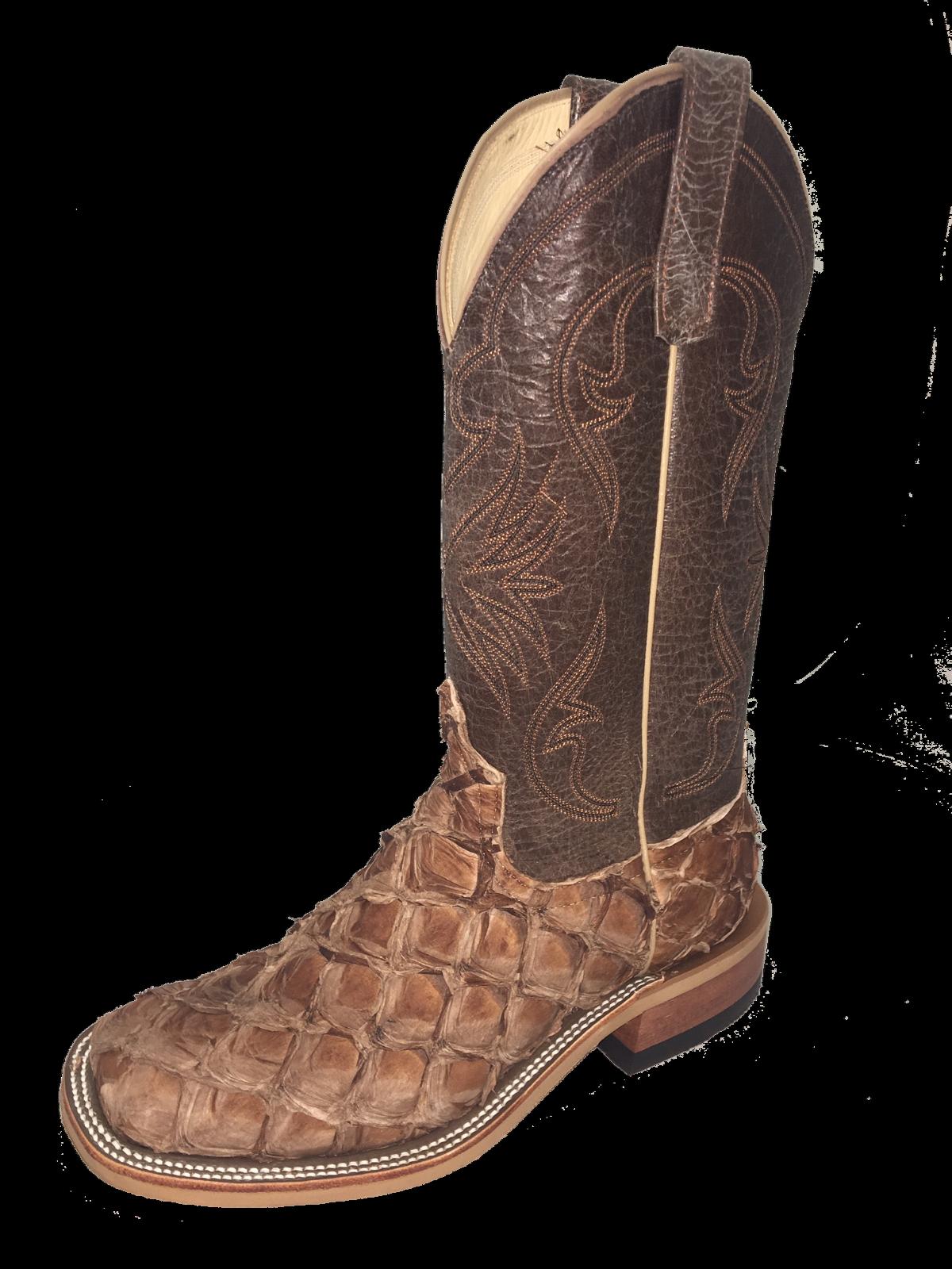 320029 Men's Anderson Bean Cigar Matte Big Bass Western Boots
