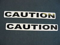 Caution Magnetic Sign 4 Car Truck Badge Police K-9 Fire K9 Van Suv Security Ems