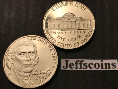 2017 S 225th Anniversary Jefferson Nickel via US Mint Proof Set Enhanced Nickle