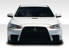 08-15 Mitsubishi Lancer EVO X Look Duraflex Front Body Kit Bumper!!! 106953