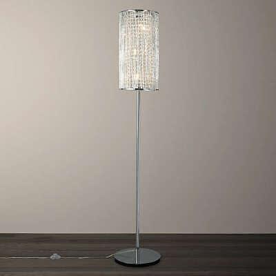 Emilia Crystal Drum Floor Lamp