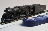 Lionel Ho Scale Polar Express Berkshire Engine Tender W Remote Train 6-58018