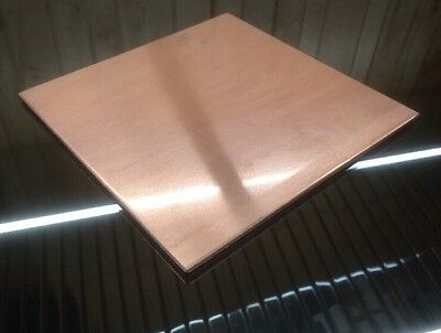 "1//8 BRASS SHEET PLATE NEW 8/""X8/"" .125 Thick *CUSTOM 1//8 SIZES AVAILABLE*"