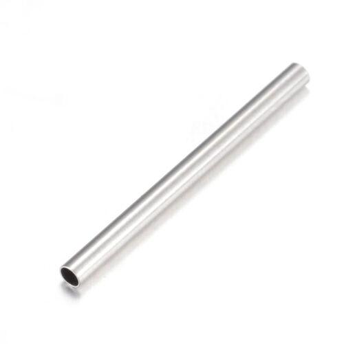 50PCS Tubo De Acero Inoxidable 304 Granos Espaciador METAL agujero del grano 20x1.5mm 1mm