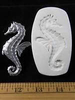 Beautiful Sea Horse Polymer Clay Mold (md1188)