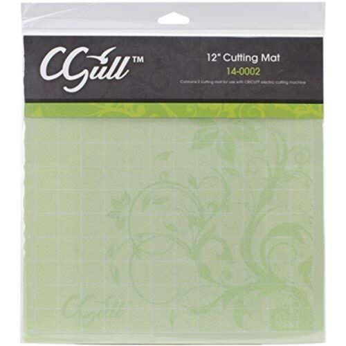 C-gull Cricut Style Cutting Mat Mat 12x12 12-inch By 12-inch