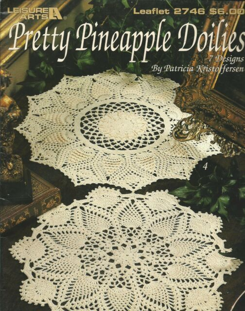 Patricia Kristoffersen Pretty Pineapple Doilies Crochet Patterns ...