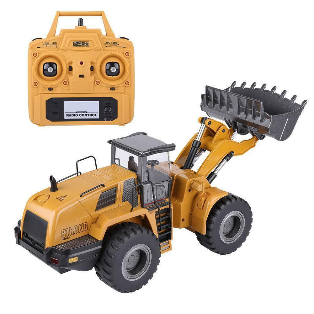 HuiNa 1580  1 14 Full Metal Excavator 3 in 1 Remote Control Engineering auto  lo  vendita scontata