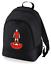 Football-TEAM-KIT-COLOURS-Liverpool-Supporter-unisex-backpack-rucksack-bag miniatuur 2