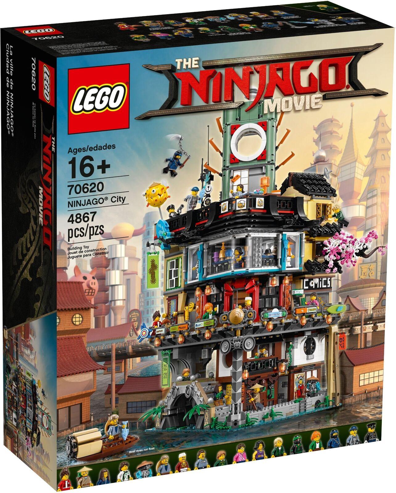 LEGO ® Exclusiv 70620 Ninjago ® City