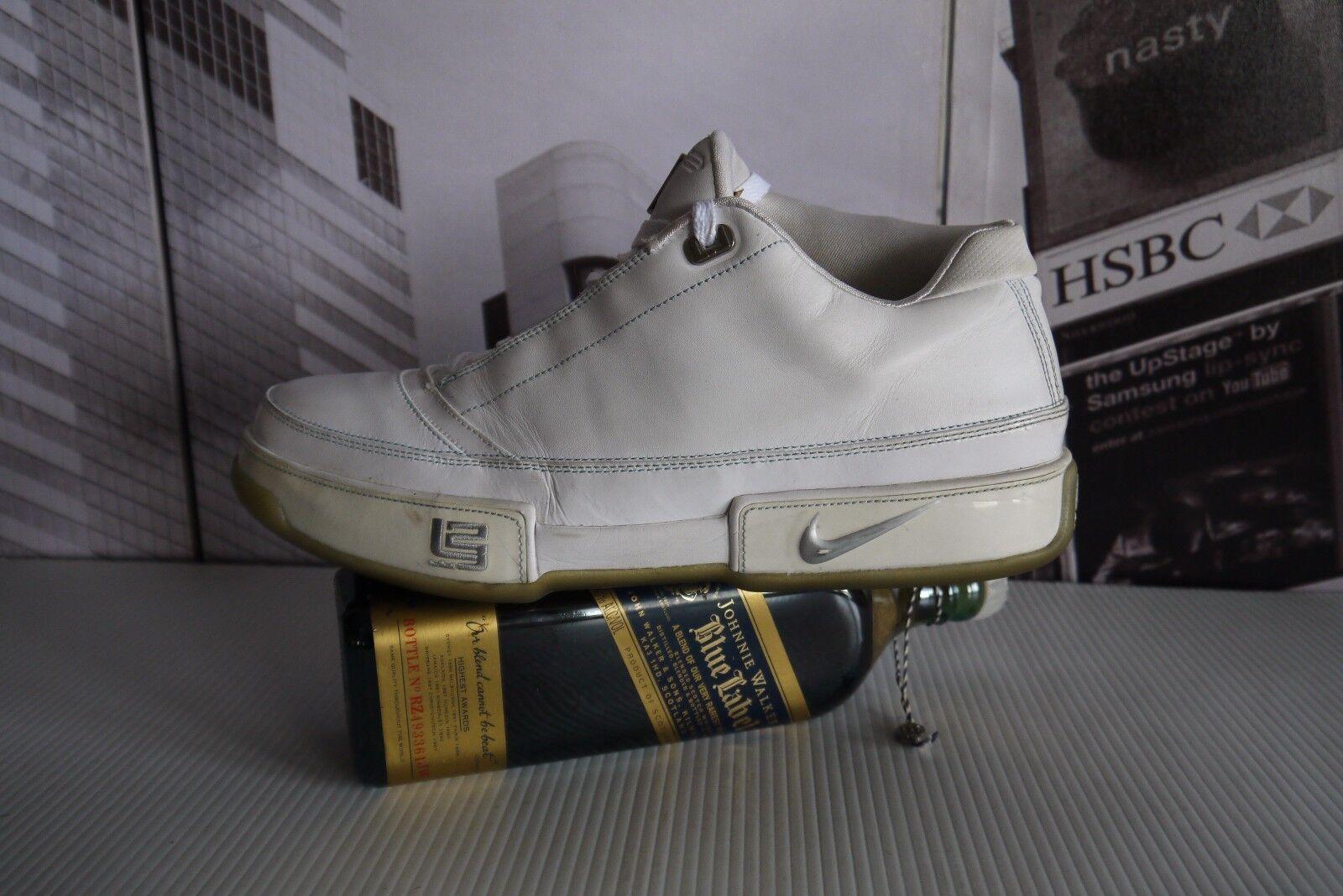 2018 Nike Para hombres Zapatos  tenis Zoom LeBron bajo 11.5 St Cuero Blanco Us 11.5 bajo 1d7ba5