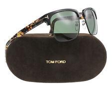 New Tom Ford Sunglasses Men TF 367 Black 02B River 57mm
