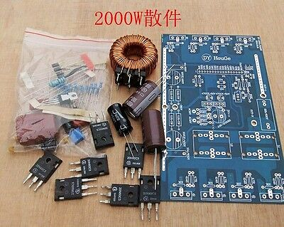 2000W  DIY Pure Sine Wave Inverter Power Board Amplifier Board kit