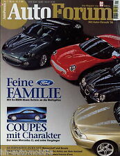 Auto Forum 1 99 1999 Aston Martin DB7 Bentley Continental T Mercedes CL 600 C70