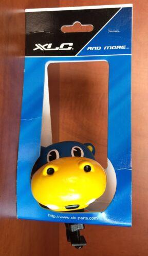 Kinderhupe lustige Tiermotive Hippo Klingel Glocke Fahrrad Laufrad Dreirad NEU