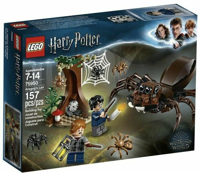 LEGO HARRY POTTER #75950 ARAGOG'S LAIR.....NEW & UNOPENED!