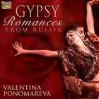 Gypsy Romances from Russia by Valentina Ponomareva (CD, Jul-2012, ARC)