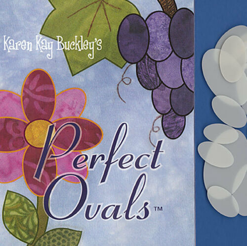 Karen Kay Buckley PERFECT OVALS 20 Reusable Heat Resistant Applique Templates