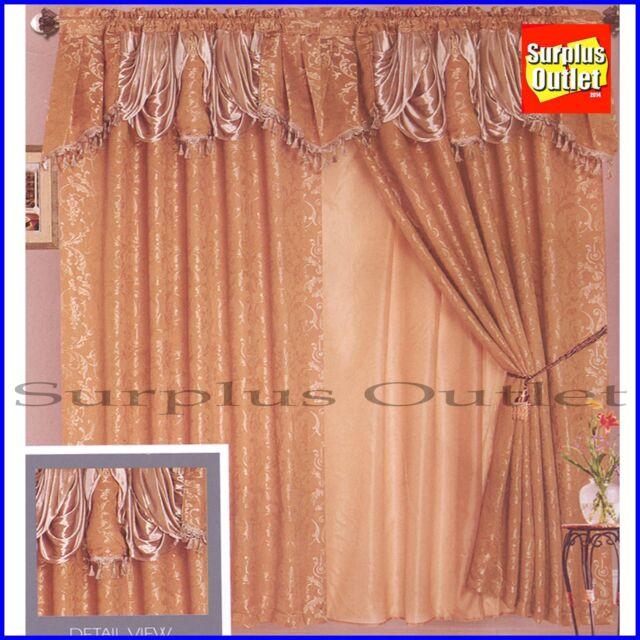 Fieldcrest Luxury Lined Curtain Panel