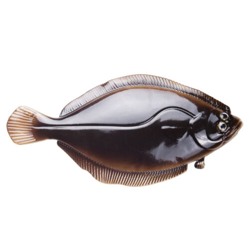XCB Gummifisch Gummiköder Norwegen angeln Baby Butt 12,5cm Dark Brown