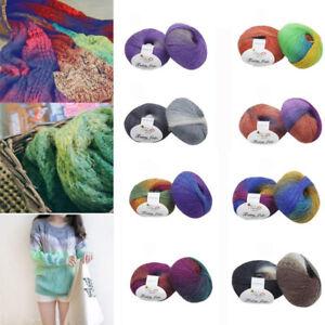 2018-multicolor-50g-tisse-a-la-main-arc-en-ciel-en-cachemire-laine-Blend-tricot