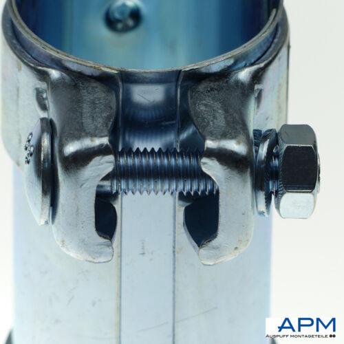 Tubo de escape conectores Los conectores reparación nuevo Wow Ø 52 x 125 mm